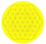 Lampe, Blume des Lebens, Lebenslicht, Geburtslicht